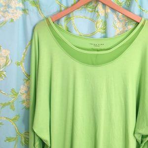 Trina Turk bright green top